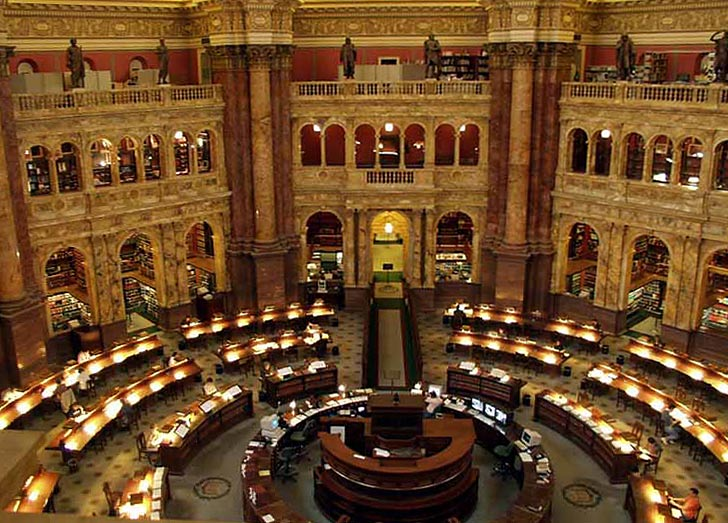 Library of Congress Reading