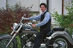 Martin on motorbike: Click for 1024 x 768