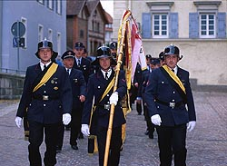 Rottweil Germany Fire Brigade