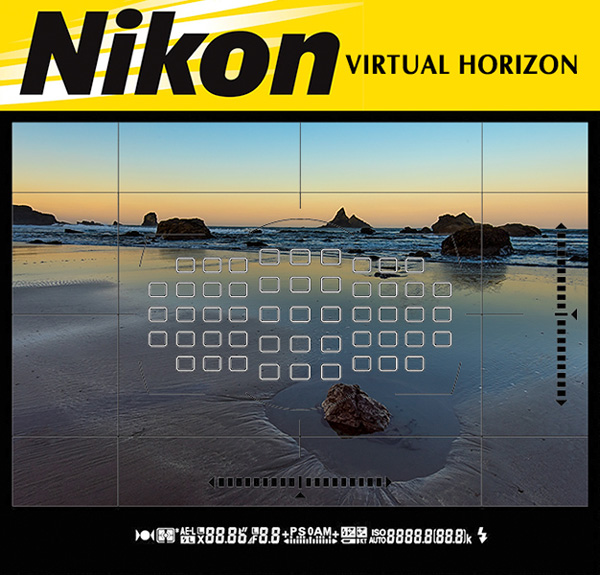 nikon virtual horizon