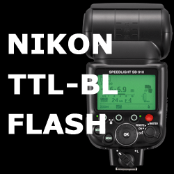 Nikon TTL-BL Flash