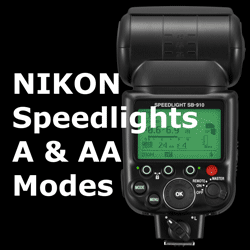 Nikon Speedlight A and AA Modes