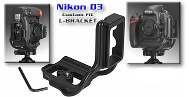 L-Brackets for your camera