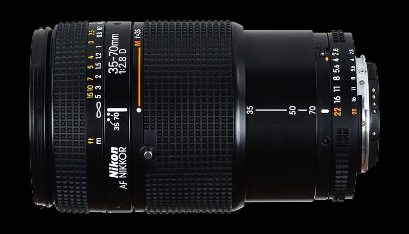 The Nikon 35-70 2.8D lens