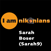 I Am Nikonians – Sarah Boser (Sarah9) Interview