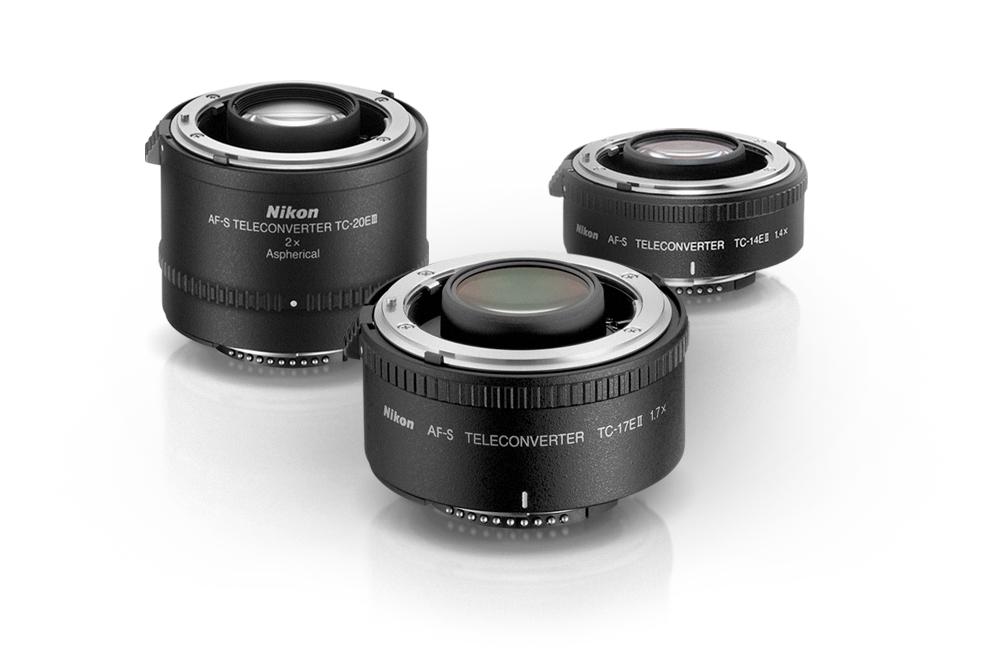 Nikon Teleconverters - Image courtesy of Nikon Corp.